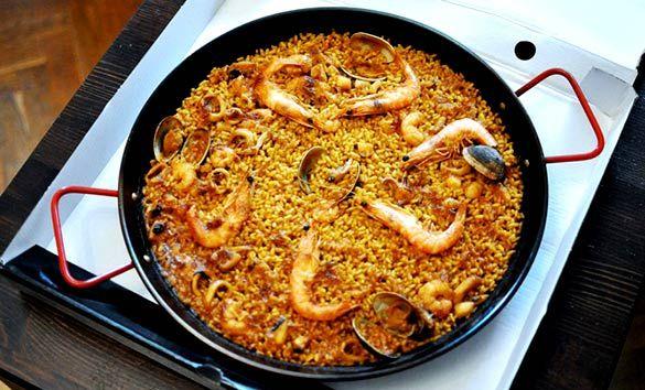 paellas a domicilio restaurante el caldero Taberna murciana en Madrid