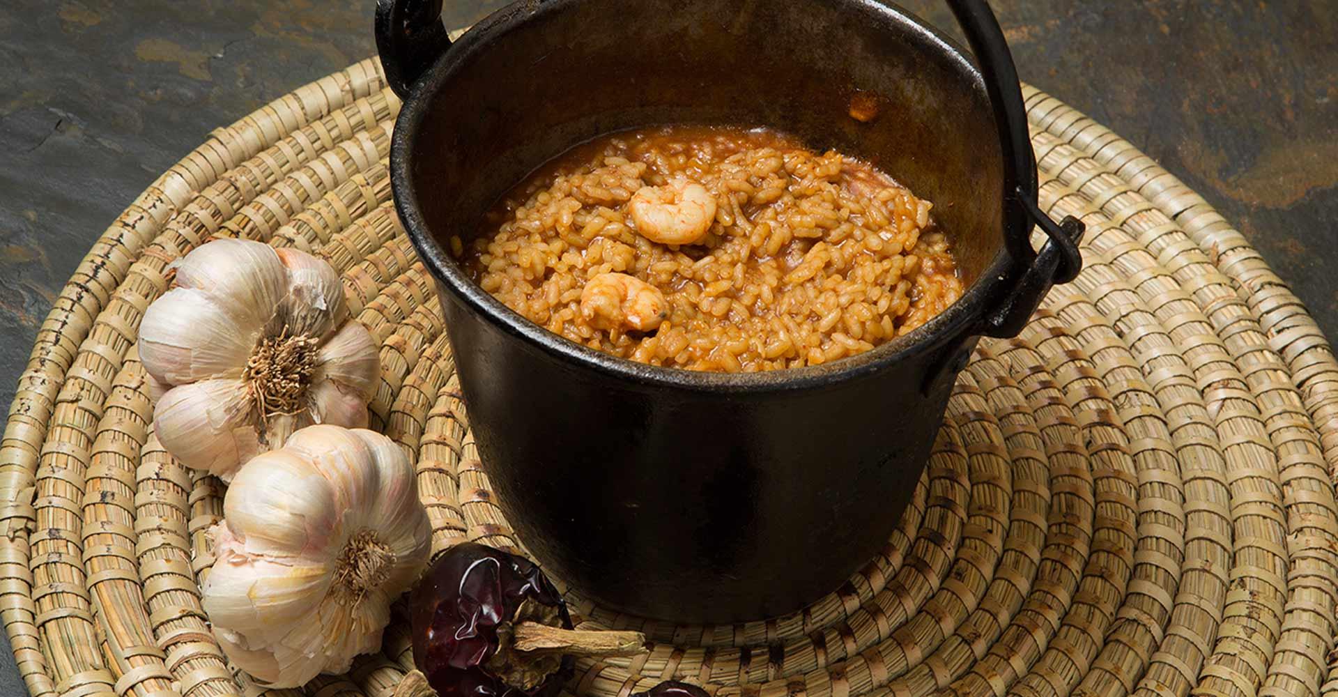 arroz al caldero restaurante huertas