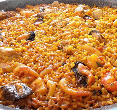 arroz ciego restaurante el caldero